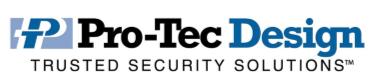 Logo Pro Tec Design